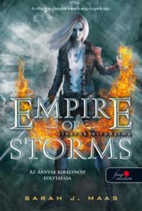Sarah J. Maas: Viharok birodalma (Üvegtrón 5.) - kemény kötés -  (Könyv)