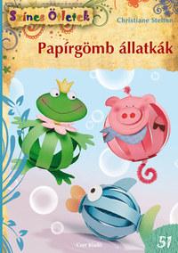Christiane Steffan: Papírgömb állatkák - Színes Ötletek 51. -  (Könyv)