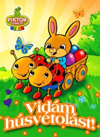 Vidám húsvétolást! -  (Könyv)