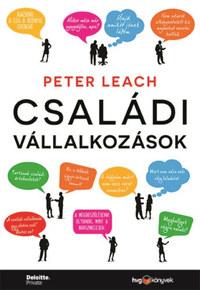 Peter Leach: Családi vállalkozások -  (Könyv)