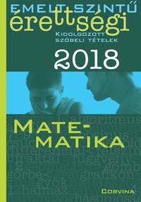 Siposs András: Emelt szintű érettségi - Matematika 2018 -  (Könyv)