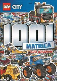 LEGO City 1001 Matrica - Csúcs járgányok -  (Könyv)