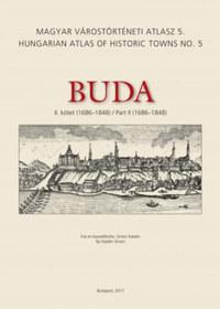 Simon Katalin: Buda II. kötet (1686-1848) - Magyar Várostörténeti Atlasz 5. -  (Könyv)