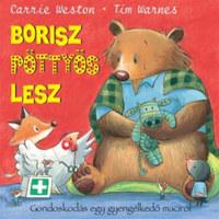Carrie Weston, Tim Warnes: Borisz pöttyös lesz -  (Könyv)