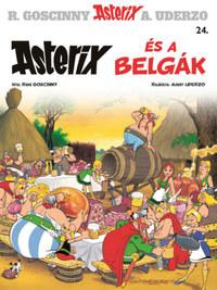 René Goscinny: Asterix 24. - Asterix és a belgák -  (Könyv)