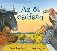 Julia Donaldson: Az öt csúfság -  (Könyv)