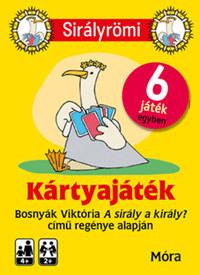 Bosnyák Viktória: Sirályrömi kártyajáték + rejtvényfüzet -  (Könyv)