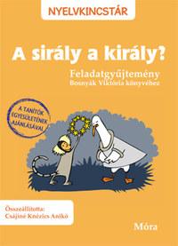 Csájiné Knézics Anikó: A sirály a király? - Feladatgyűjtemény Bosnyák Viktória könyvéhez -  (Könyv)