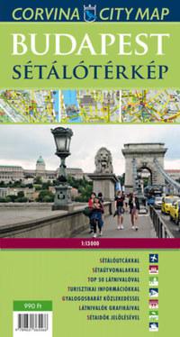 Corvina Kiadó: Budapest sétálótérkép - 1:13000 -  (Könyv)