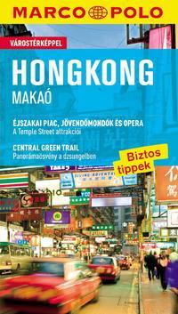 Hans-Wilm Schütte: Hongkong, Makaó - Marco Polo - várostérképpel -  (Könyv)