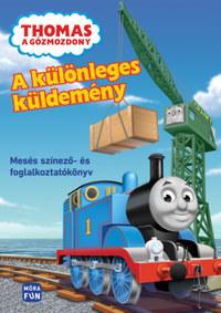 Thomas a Gőzmozdony - A különleges küldemény - Mesés színező- és foglalkoztatókönyv -  (Könyv)