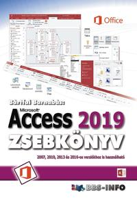 Bártfai Barnabás: Access 2019 zsebkönyv -  (Könyv)