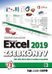 Bártfai Barnabás: Excel 2019 zsebkönyv -  (Könyv)