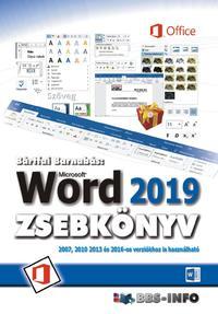 Bártfai Barnabás: Word 2019 zsebkönyv -  (Könyv)