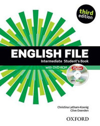 Christina Latham-Koenig, Clive Oxenden: English File Intermediate Student's Book with iTutor - Third edition - with DVD-ROM -  (Könyv)