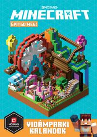 Minecraft - Építsd meg! - Vidámparki kalandok -  (Könyv)