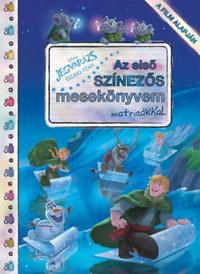 Disney - Jégvarázs: Északi fény - Az első színezős mesekönyvem matricákkal -  (Könyv)