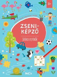 Zseniképző - Játékos fejtörők -  (Könyv)