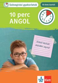 Julia Umschaden: 10 perc Angol - Szövegírási gyakorlatok 10 éves kortól -  (Könyv)