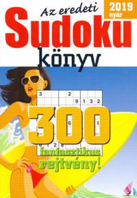 Az eredeti Sudoku könyv - 2019 nyár -  (Könyv)