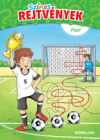 Színes rejtvények - Foci - 6 éves kortól -  (Könyv)