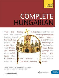 Pontifex Zsuzsanna: Complete Hungarian - Intermediate+Audio -  (Könyv)
