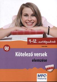 Sándor Ildikó: Kötelező versek elemzése 9-12. osztályosoknak -  (Könyv)
