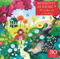 Piroska és a farkas - Mesekönyv és 30 darabos kirakó -  (Könyv)