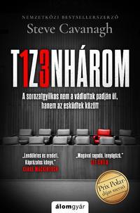 Steve Cavanagh: Tizenhárom -  (Könyv)
