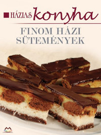 Finom házi sütemények - Házias konyha -  (Könyv)