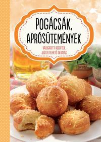 Pogácsák, aprósütemények - Válogatott receptek, jegyzetelhető oldalak -  (Könyv)