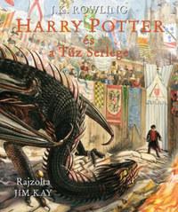 J. K. Rowling: Harry Potter és a Tűz serlege - Illusztrált kiadás -  (Könyv)