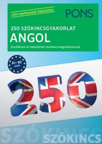 Birgit Piefke-Wagner: PONS 250 Szókincsgyakorlat Angol - Kezdőknek és haladóknak részletes megoldókulccsal -  (Könyv)