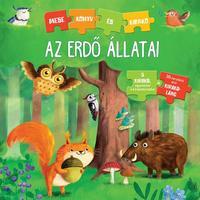 Carola von Kessel: Az erdő állatai - Mesekönyv és kirakó -  (Könyv)