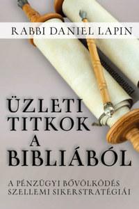 Rabbi Daniel Lapin: Üzleti titkok a Bibliából - A pénzügyi bővölködés szellemi sikerstratégiái -  (Könyv)