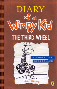 Jeff Kinney: Diary of a Wimpy Kid: The Third Wheel -  (Könyv)