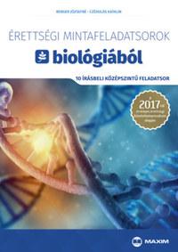 Berger Józsefné, Czédulás Katalin: Érettségi mintafeladatsorok biológiából (10 írásbeli középszintű feladatsor) - A 2017-től érvényes érettségi követelményrendszer alapján -  (Könyv)