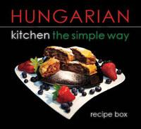 Hajni István, Kolozsvári Ildikó: Hungarian kitchen the simple way - Recipe box -  (Könyv)