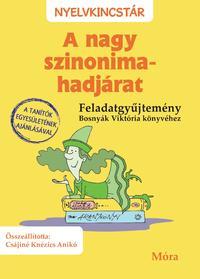Csájiné Knézics Anikó: A nagy szinonima-hadjárat - feladatgyűjtemény -  (Könyv)