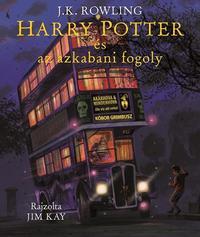 J. K. Rowling: Harry Potter és az azkabani fogoly - Illusztrált kiadás -  (Könyv)