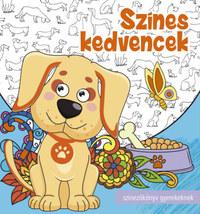 Színes kedvencek - Színezőkönyv gyerekeknek -  (Könyv)