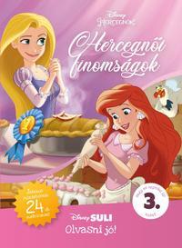Apple Jordan: Hercegnői finomságok - Disney Suli Olvasni jó! 3. szint - Játékos feladatokkal, 24 db matricával! -  (Könyv)