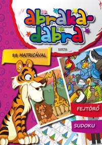 Abrakadabra - 88 matricával -  (Könyv)