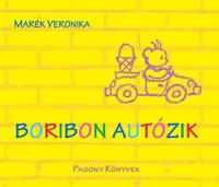 Marék Veronika: Boribon autózik -  (Könyv)