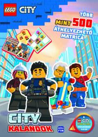 Lego City - City kalandok - Több mint 500 áthelyezhető matrica! -  (Könyv)