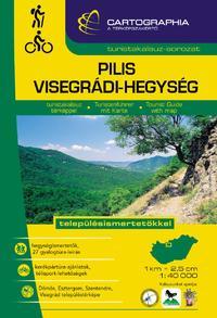 Pilis és Visegrádi-hegység turistakalauz - településismertetőkkel -  (Könyv)