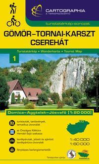 Cartographia Kft.: Gömör-Tornai-karszt turistatérkép -  (Könyv)