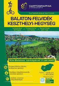 Balaton-felvidék, Keszthelyi-hegység turistakalauz 1:40 000 - Kis-Balaton térképével 1:80 000 -  (Könyv)