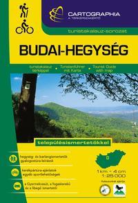 """BUDAI-HEGYSÉG TURISTAKALAUZ 1:25 000 """"SC"""" - településismertetőkkel -  (Könyv)"""