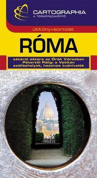 Kudar Lajos, Kerepeczky Orsolya: Róma útikönyv -  (Könyv)